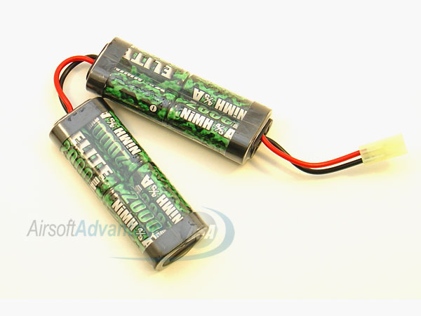 9.6v 2000mah Nun-Chuck Small Battery
