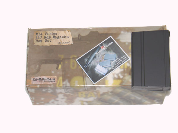 King Arms M14 110rd Magazines (10 pc Box Set)
